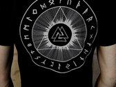 Jernbyrd T-shirt ( sort ) (ladies and gentlemen designs) photo