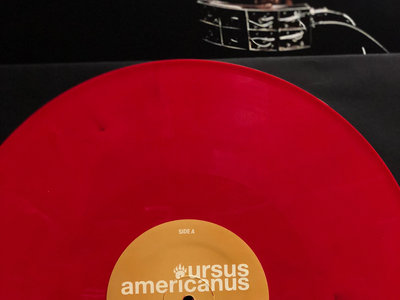 "AUTHOR & PUNISHER ""URSUS AMERICANUS"" COLORED VINYL LP + DIGITAL DOWNLOAD main photo"