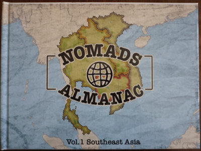Nomads Almanac Vol.1 - Southeast Asia (hardcover book & album) main photo