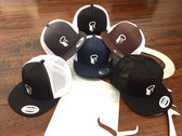 Mesh Snapback Hats with Embroidered Logo photo