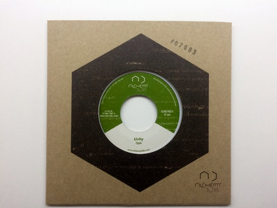 "Livity 7"" - Ojah - ALDBS7003 (Melodica Trilogy Vol.3) main photo"