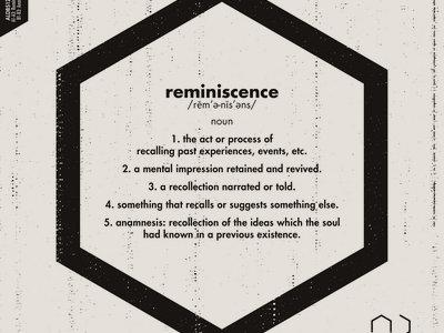"Reminiscence 12"" - Ojah feat. Nik Torp - ALDBS12002 main photo"