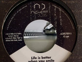 "Life is better when you smile 7""- Ojah feat. Hada Guldris - ALDBS7004 photo"