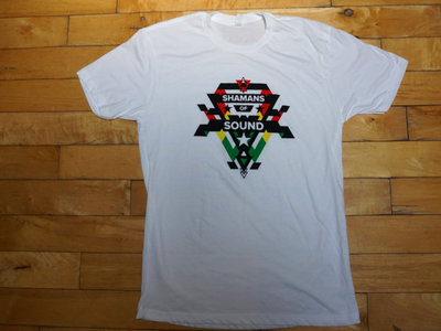 Shamans Of Sound White Tee main photo
