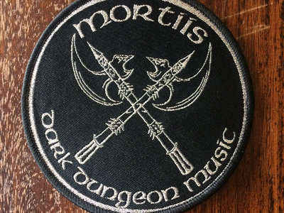 Dark Dungeon Music Woven Patch main photo