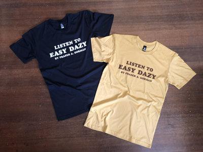 Easy Dazy Tee - Navy or Gold main photo