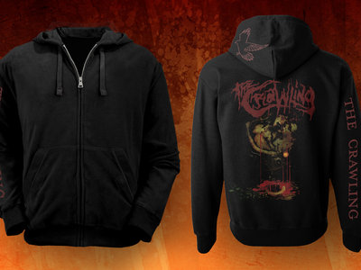 """""""WATHW"""" zipped hoodie main photo"""