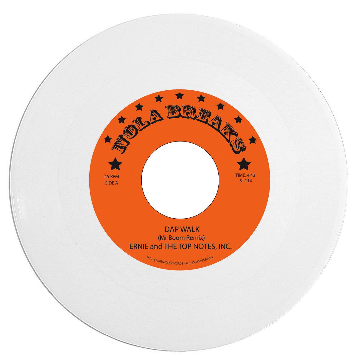 "Ernie and The Top Notes, Inc  - ""Dap Walk"" (Mr Boom Remix"