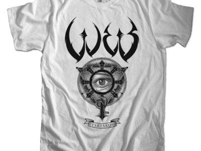 W.E.B. Tartarus white t-shirt main photo
