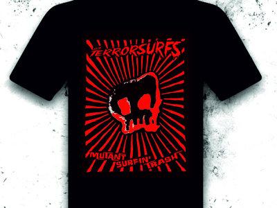 Mutant Surfin' Trash T-shirt red print main photo