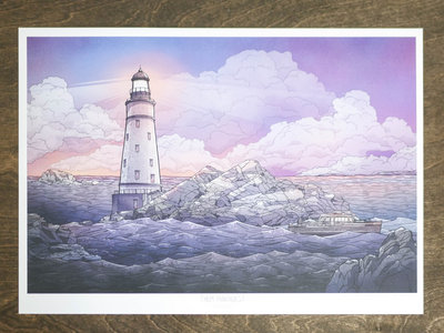 Lighthouse A3 Art Print main photo