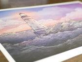 Lighthouse A3 Art Print photo