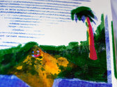 Livret / poster sérigraphié avec CD photo
