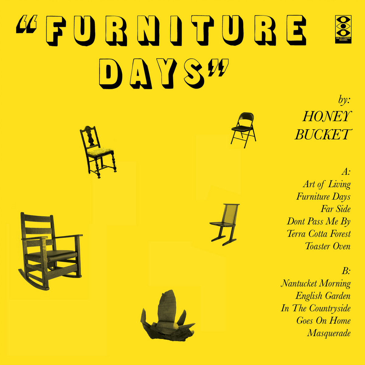 Includes Unlimited Streaming Of Furniture Days Via The Free Bandcamp App