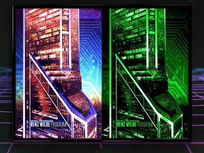 Renz Wilde - Program EP Poster / Variant Poster (Choose from 2 Designs) main photo