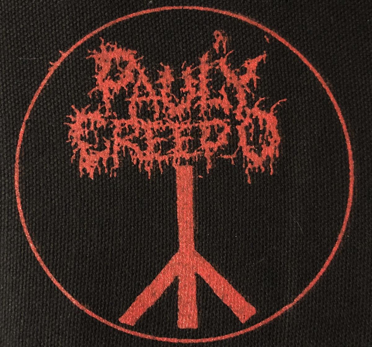 Traditional DEATH RUNE w/black metal font   PAULY CREEP-O