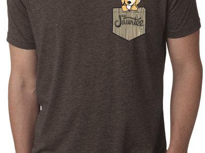 Puppy in My Pocket T-Shirt (Espresso) main photo