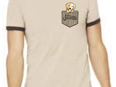 Puppy in My Pocket T-Shirt (Tan) main photo