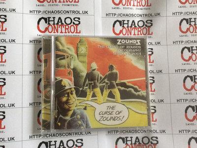 Zounds - The Curse of Zounds CD main photo