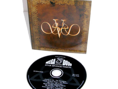 Signed STAR SPONGE VISION - Crowley & Me Compact Disc main photo
