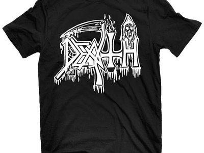 Classic Logo T Shirt (White on Black) XXXL main photo