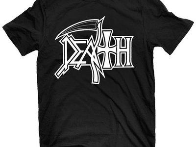 Death - New Logo (White on Black) main photo
