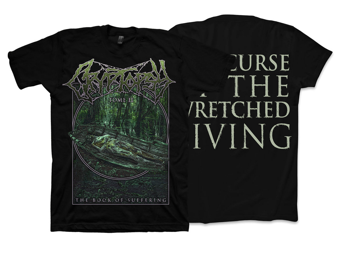 ff4b0e6a The Book of Suffering - Tome II T-Shirt | Cryptopsy