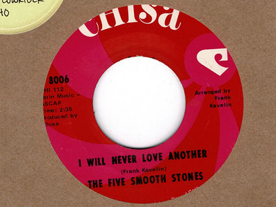 I WILL NEVER LOVE ANOTHER - THE FIVE SMOOTH STONES main photo