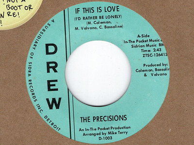 IF THIS IS LOVE - THE PRECISION main photo