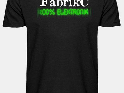 """Shirt """"100% ELEKTRONIK"""" main photo"""