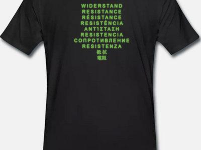 """Shirt """"WIDERSTAND"""" main photo"""