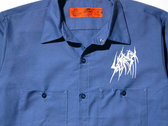 SETE STAR SEPT work shirt Red Kap - Postman Blue photo