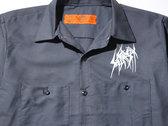 SETE STAR SEPT work shirt Red Kap - Charcoal photo