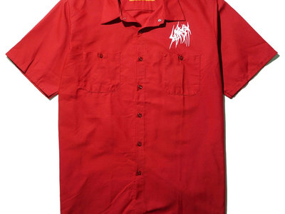 SETE STAR SEPT work shirt Red Kap - Red main photo
