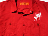 SETE STAR SEPT work shirt Red Kap - Red photo