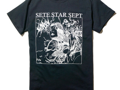 "SETE STAR SEPT ""Gero Me"" T-shirt - Mono - Black main photo"