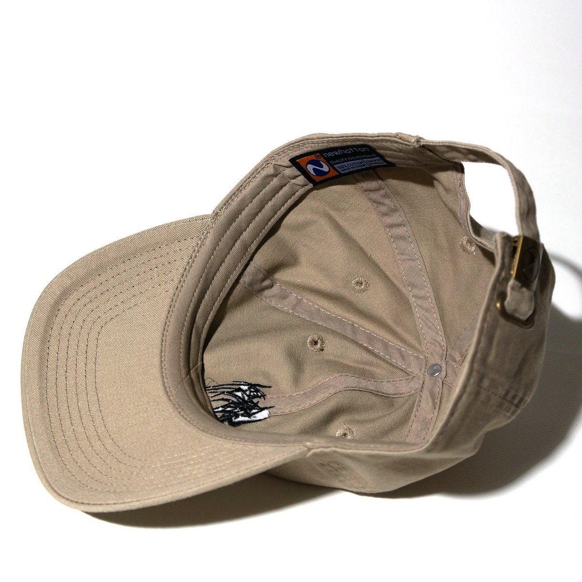 328b3f0117b ... SETE STAR SEPT Cotton Cap (Newhattan 1404)-Khaki photo