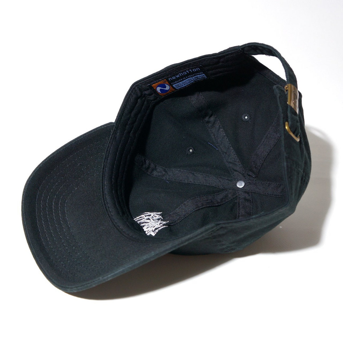 46c0ddccbf8 ... SETE STAR SEPT Cotton Cap (Newhattan 1404)-Black photo