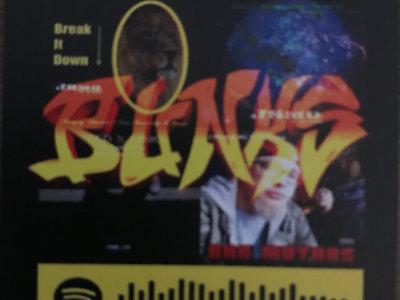 "BUNKS Spotify Code Stickers 2""X2"" main photo"