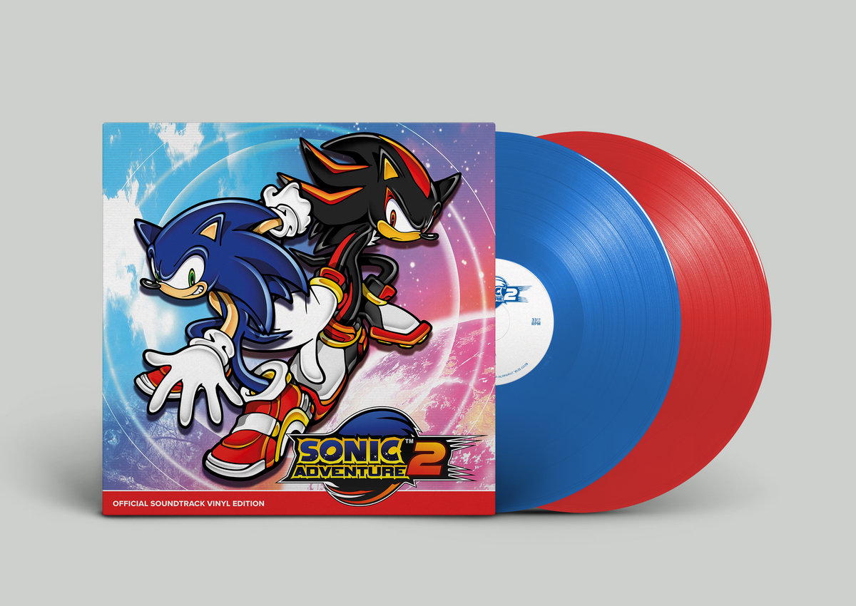 SONIC ADVENTURE 2 OFFICIAL SOUNDTRACK VINYL EDITION | Brave