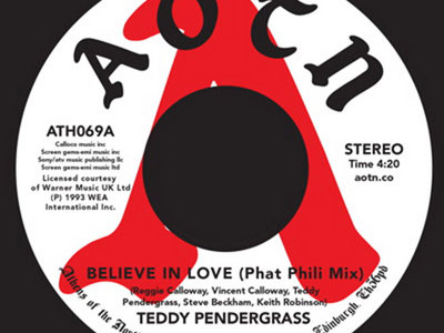 Teddy Pendergrass - Believe In Love 7 Inch Single main photo