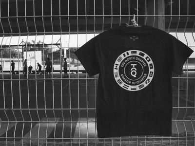 Quarter To Quarter T-Shirt (Black) (Shipping August 30th) main photo