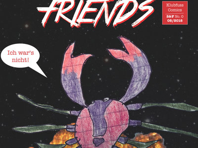 """""""Stranger & Friends (III) – Prometheus"""" 16 pages full color comic book by Florian Filsinger & Haina main photo"""