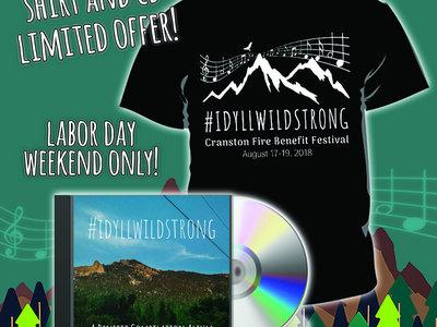 Idyllwild Strong T-shirt/CD bundle main photo