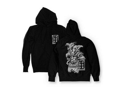 Re Print - Samurai Music - Decayed Warrior Hooded Sweatshirt main photo