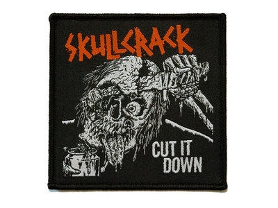 Cut It Down woven iron-on patch main photo
