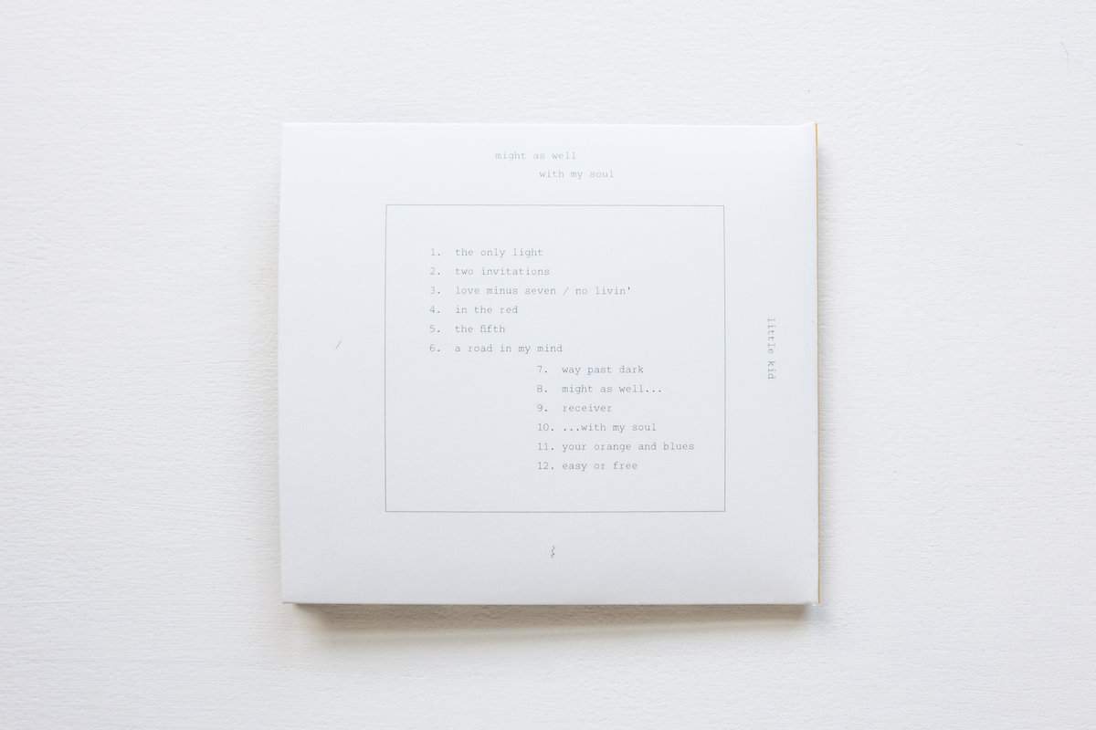 Might as well with my soul little kid cd in gatefold lp style cardboard wallet including a booklet containing all lyrics art and design by james chia han lee includes unlimited streaming of stopboris Images