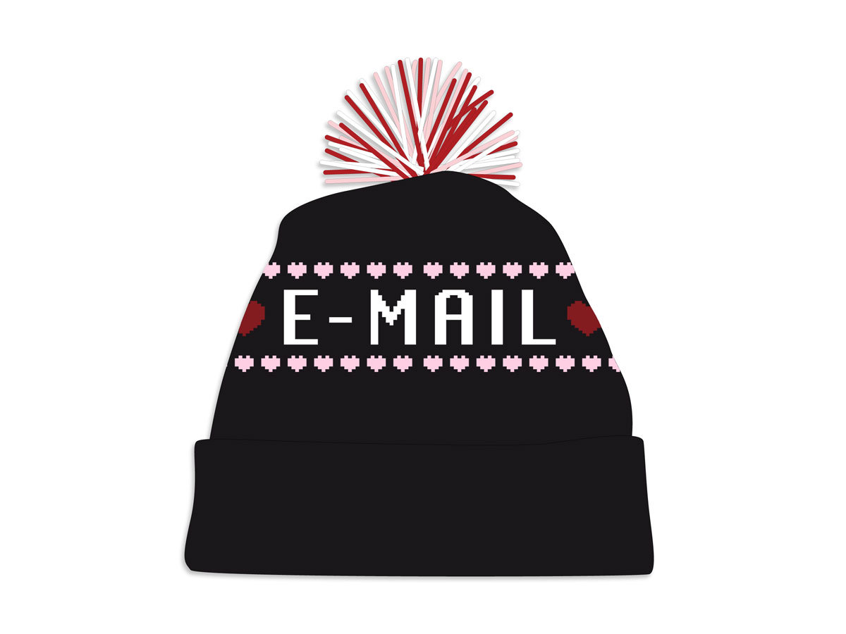 5b3dbba0bf0 Knit Hat -  3 Email  3 main photo