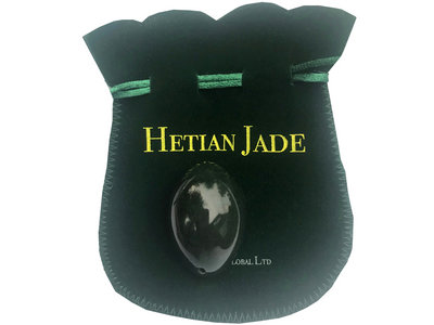 Certified Nephrite Jade Egg With Instructions main photo