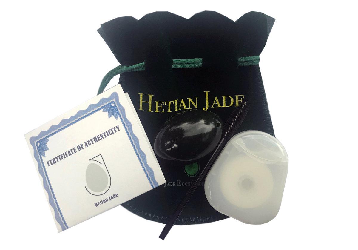 Nephrite Jade Egg With Instructions Medium Jade Eggs Global